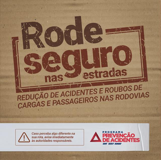 Anápolis: SEST SENAT promove a Campanha Rode Seguro nas Estradas