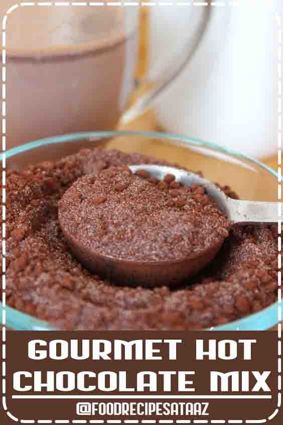 4.6 ★★★★★ | Want a reliable, or even gourmet hot chocolate mix when you're short on time that doesn't suffer in quality? Give this one a try! #HotChocolate #Recipes #Mix