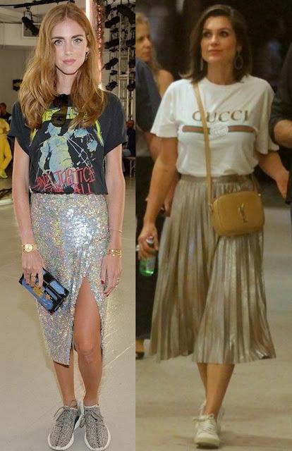 Como usar brilho - Looks Inspiração, Chiara Ferragni, Flavia Alessandra