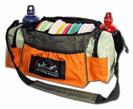 Fade Gear Tourney Disc Golf Bag for DOG DISCS