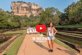 Lion Rpck, Sigiriya, Sri Lanka, UNESCO Weltkulturerbe, WELTREISE.TV Arkadijs Weltreise