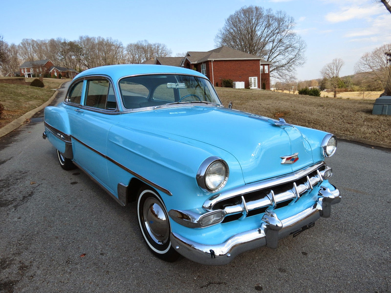 All American Classic Cars 1954 Chevrolet Bel Air 2 Door Sedan 4