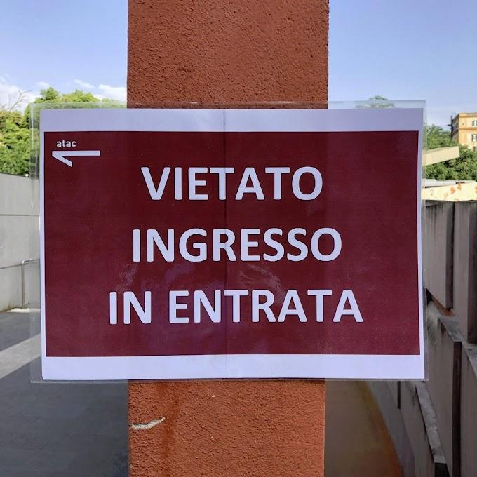 Situazione del trasporto pubblico di Roma di martedì 19 maggio