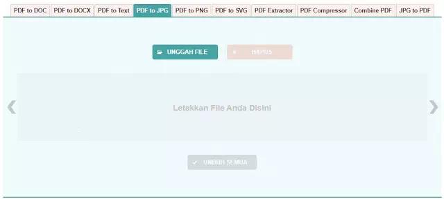 PDF to JPG atau JPG to PDF