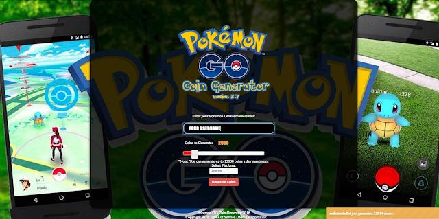 Pokemon Go Coins Generator Hack Get Unlimited Pokemon Go Coins Poke