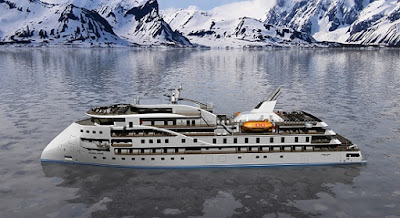 Artists Rendering of SunStone's New Class of Expedition Ships.