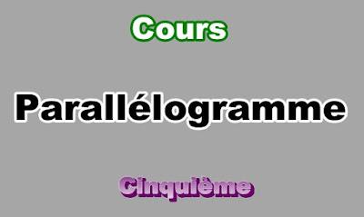 Cours Sur Le Parallélogramme 5eme en PDF