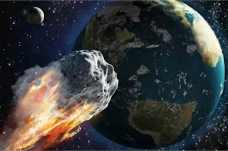 A meteor body as big as Everest will pass through the earth this afternoon