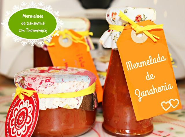 MERMELADA DE ZANAHORIA CON THERMOMIX