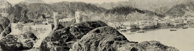 View of Muscat ca 1902 (from Wikipedia)
