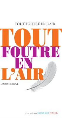 Tout foutre en l'air - Antoine Dole - Actes sud Junior - 2015