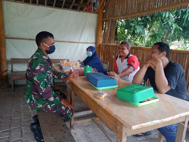 Terjun Langsung Babinsa ke Wilayah Binaan, Merupakan Harapan Masyarakat