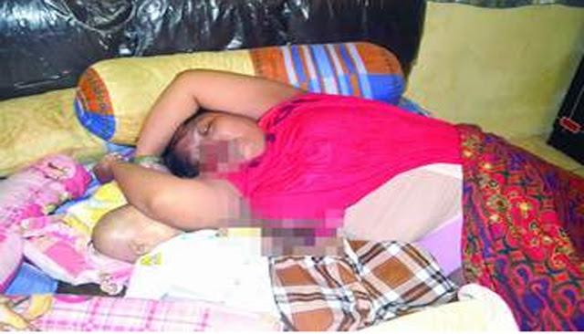 Bayi Tewas Tertindih Lengan Ibunya yang Meninggal Secara Mendadak Ketika Tidur.