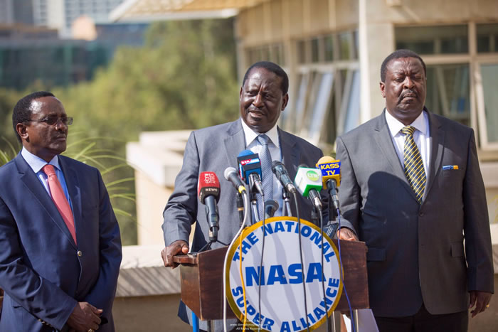 Uhuru Park Is Ours: NASA Defiant As D-Day Approaches