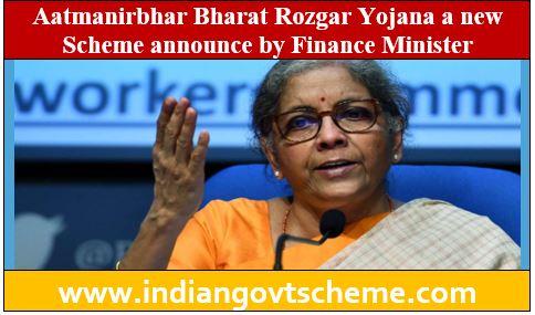Aatmanirbhar Bharat Rozgar Yojana