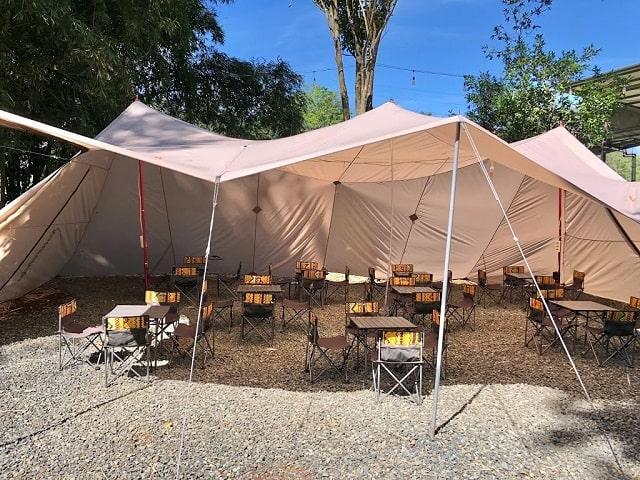 fasilitas atanapi coffee camp bandung