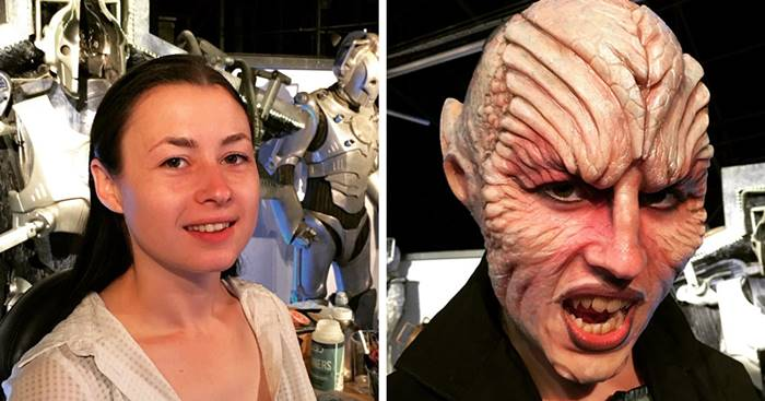 Amazing Work of British Make-Up Artist Neill Gorton