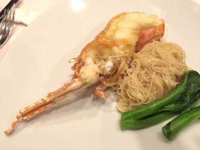 龙虾上汤焖生面