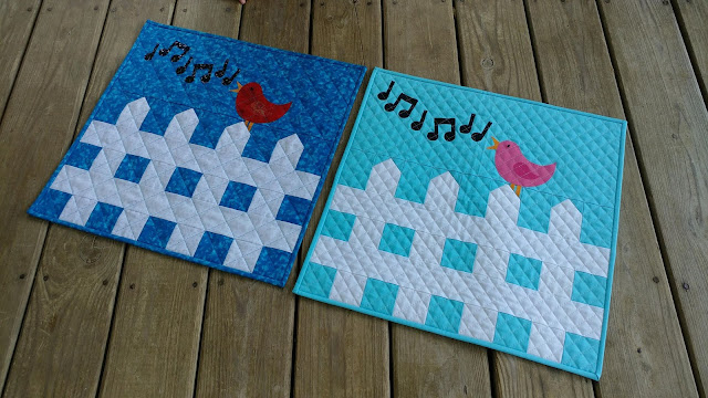 Sweet Tweets Row by Row pattern from The Stitchin' Post in Willow Springs, Missouri