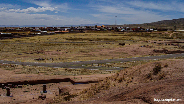 Vila de Tiwanaku, Bolívia