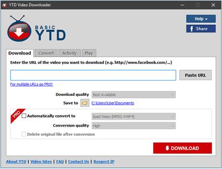 YTD Free Video Downloader