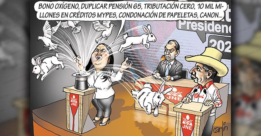 Carlincaturas Martes 1 Junio 2021 - La República