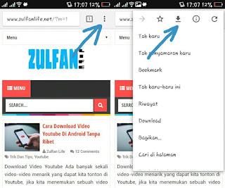 Cara Menyimpan Halaman Web Agar Bisa Dibuka Saat Offline Di Chrome Android