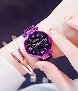 Luxury Quartz Starry Sky Dial Watches