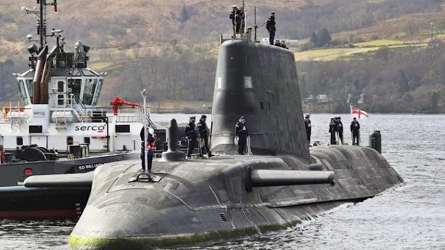 Kapal Selam Audacious Milik Inggris, Bisa Menyelam 25 Tahun Nonstop