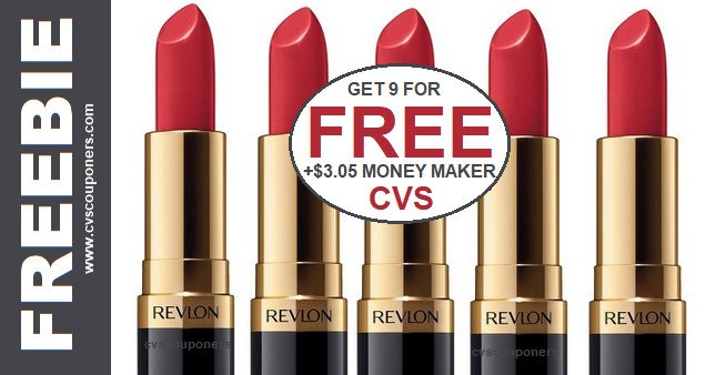 HUGE Revlon Lip Color Money Maker CVS