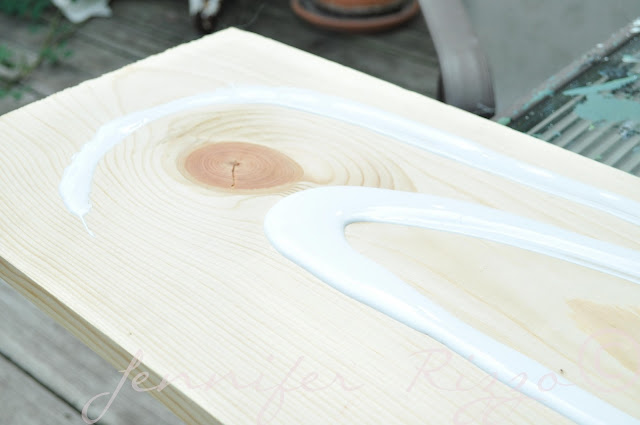 Make a really spooky wood Halloween sign with your inkjet printer