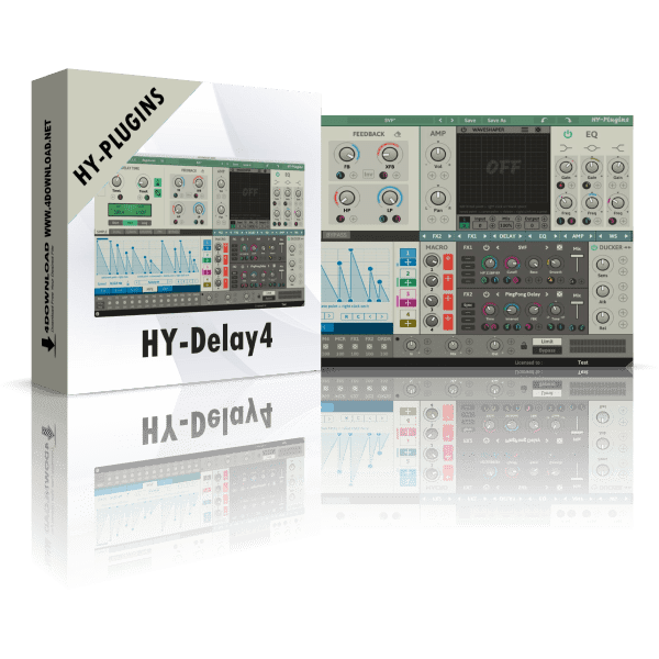 HY-Delay4 v1.1.3 Full version