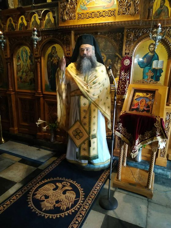 ΣΤΥΛΙΔΑ :Την πρώτη Θεία Λειτουργία τέλεσε ο νέος Ηγούμενος της Ι.Μονής του Αγίου Βλασίου