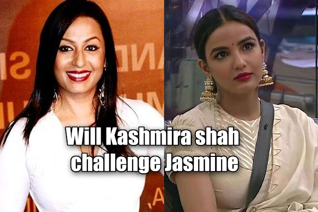 Will Kashmira shah challenge Jasmine in bigg boss house?