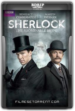 Sherlock A Abominável Noiva Torrent BDRip Dual Áudio 2016