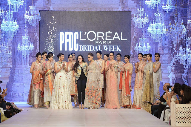Sania maskatiya bridal showcase fashion week 2014