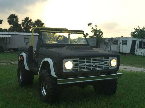 Ford Bronco For Sale Craigslist >> 1974 Ford Bronco 4x4 with 351 V8 For Sale $7,800