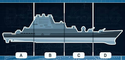 Figure: The fog is rising… You need to launch a missile to strike the battleship. Turn your attention to where on the picture it says B6 and press detonate.