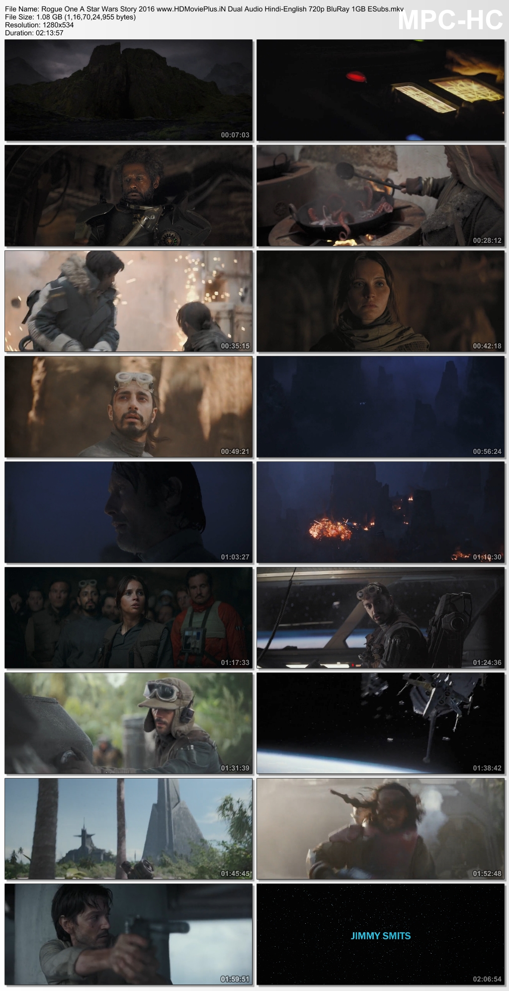 Rogue One: A Star Wars Story 2016 Dual Audio