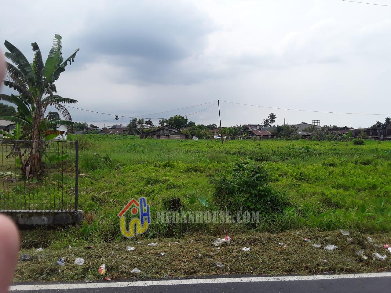 Tanah dijual di daerah Medan Polonia