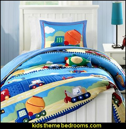 Mizone Kids Totally Transit Comforter Set