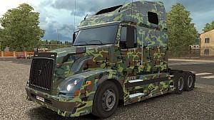 Volvo VNL 670 Army skin by KimTruong