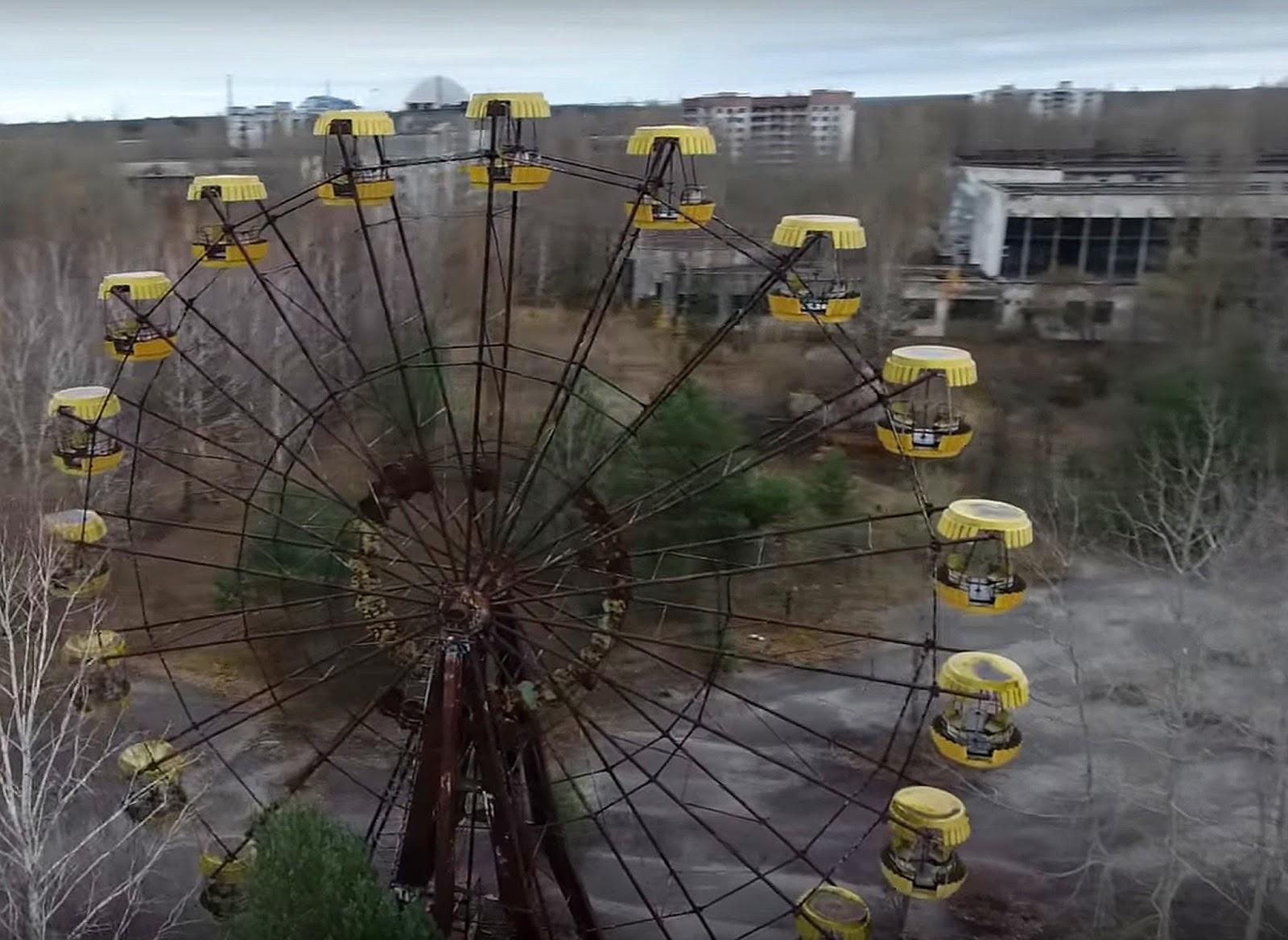 Панорама чернобыля фото