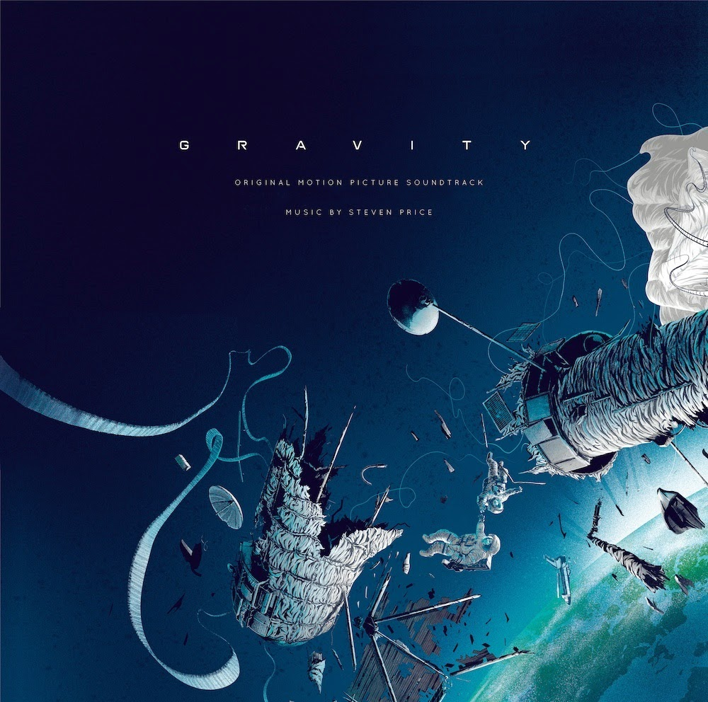 The Geeky Nerfherder Cool Art Gravity Soundtrack Cover