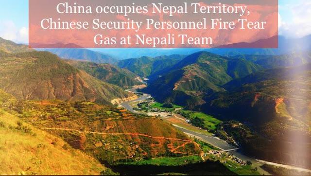 China occupies Nepal territory