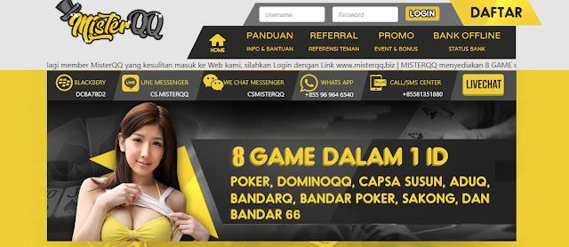 Poker MISTERQQ MENYEDIAKAN DEPOSIT VIA PULSA TELKOMSEL DAN
