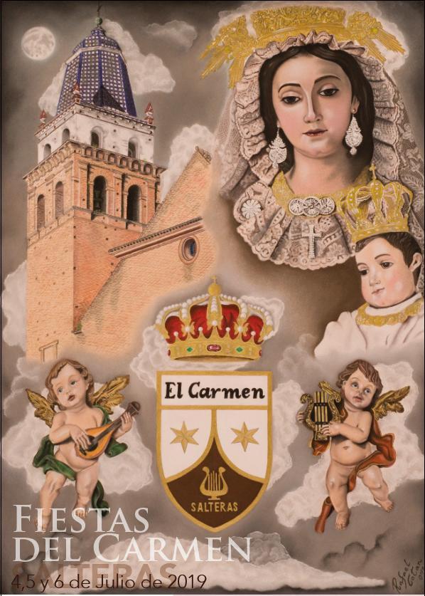 Cartel de las Fiestas del Carmen de Salteras