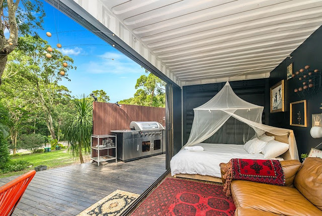 20 ft Small and Cozy Shipping Container House, NSW, Australia 6