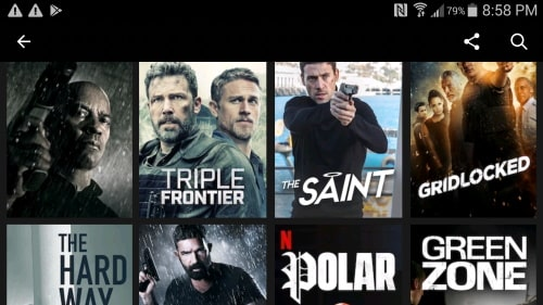 Save money by cancelling cable tv and watch hd movies through movie apps.