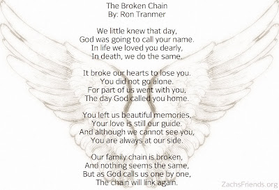 Zach's Friends: The Broken Chain Poem